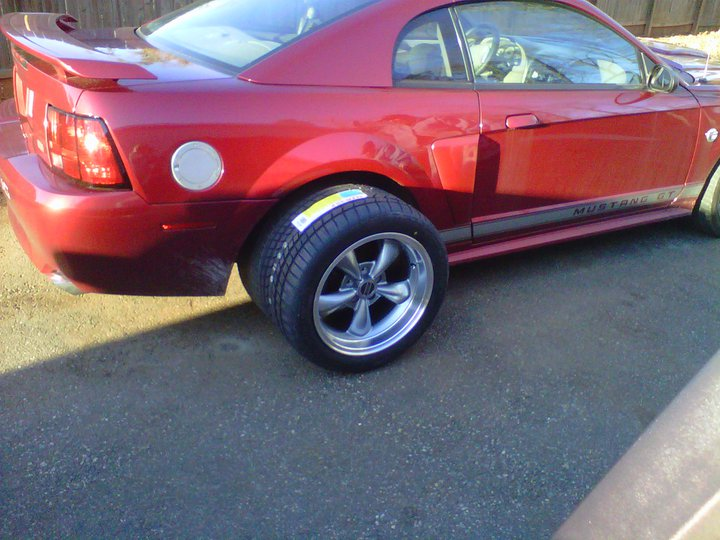 How Wide Of Tires Mustang Evolution