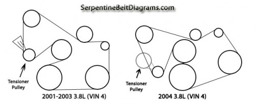 Tensioner pulley mustang evolution click image for larger version name 2001 2004mustang3 8 e1296428536491g sciox Gallery