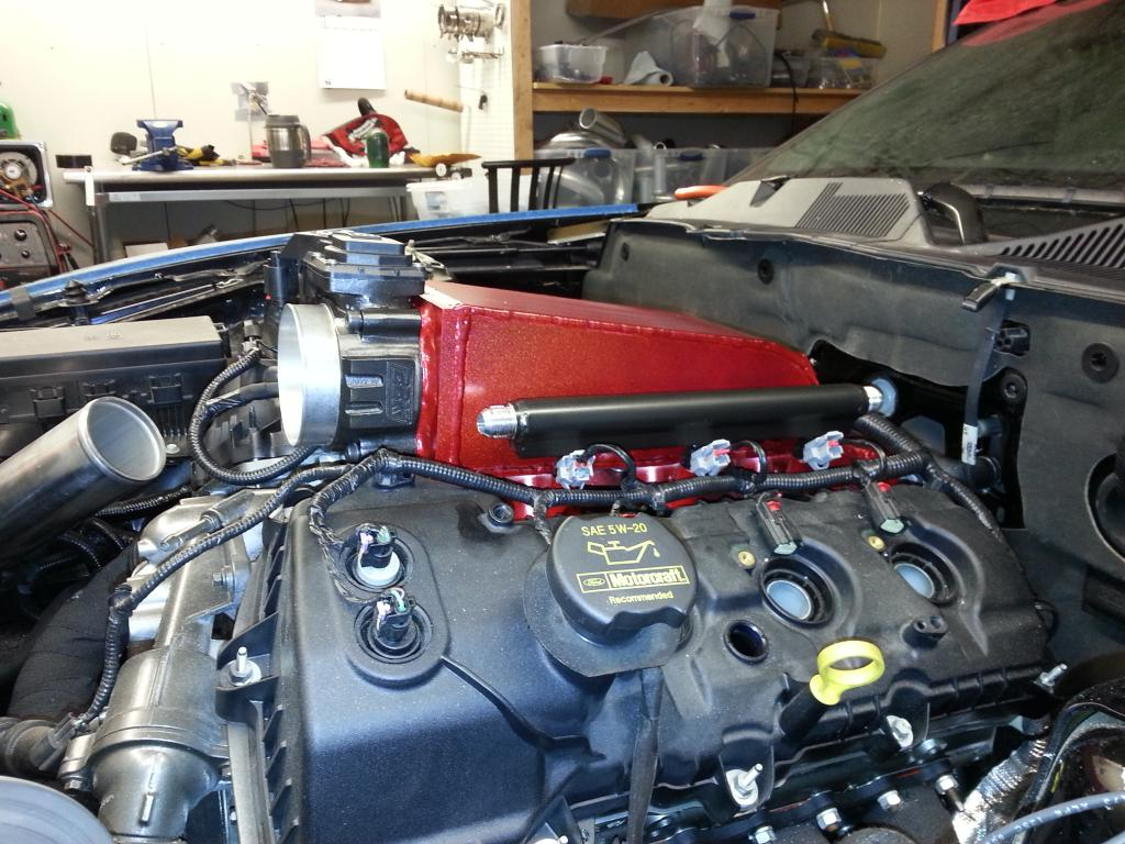 Finally we might see an intake manifold for our 3.7s ...
