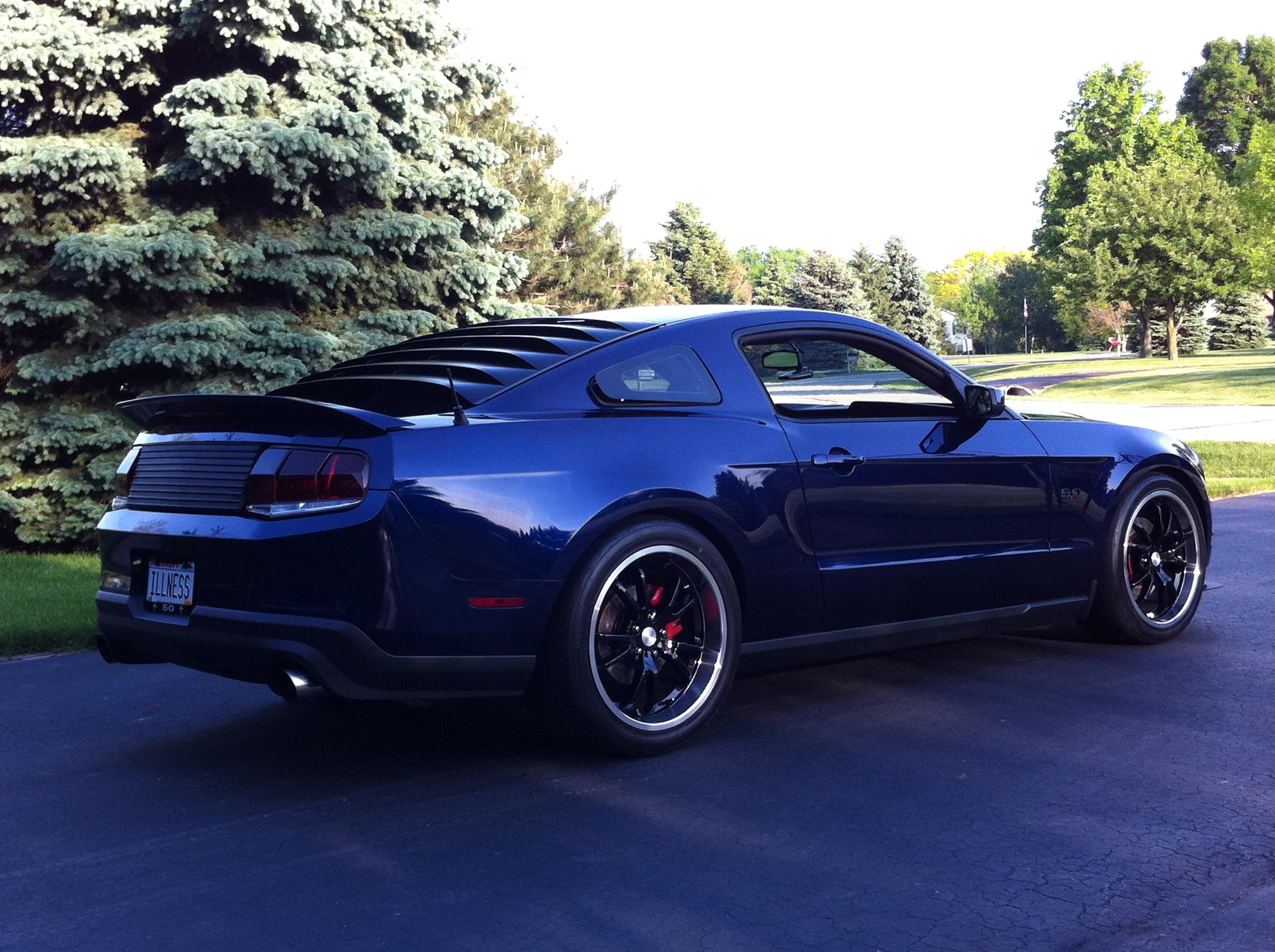Kona Blue Appearance Mods Mustang Evolution