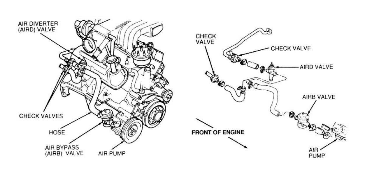 diagram of a 1995 3 8 mustang engine s vacuum hoses