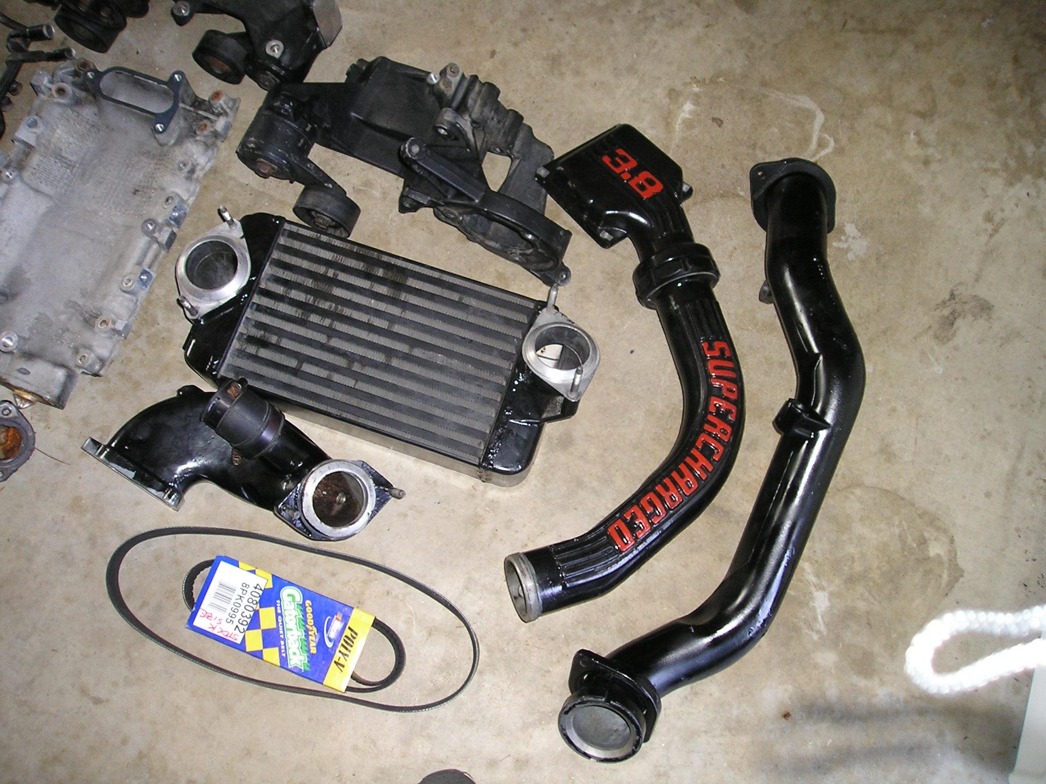 Eaton M90 Supercharger for V6 Mustangs - Mustang Evolution