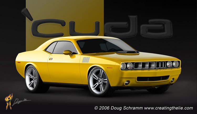 Possible Cuda Return - Mustang Evolution
