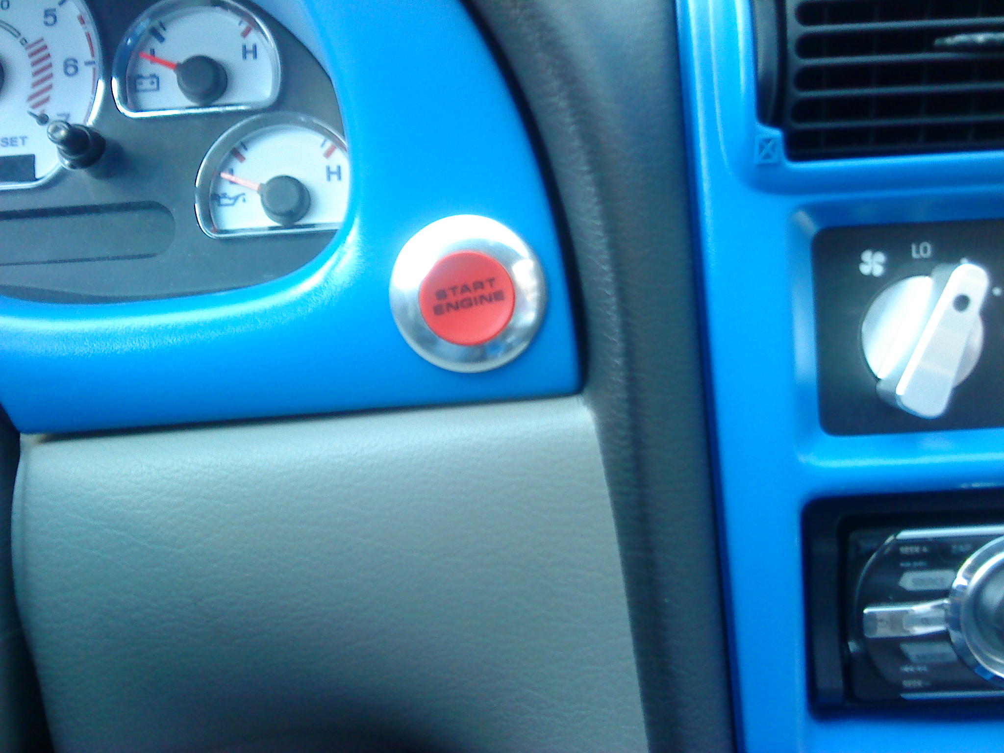 Push To Start Completed!!! - Mustang Evolution