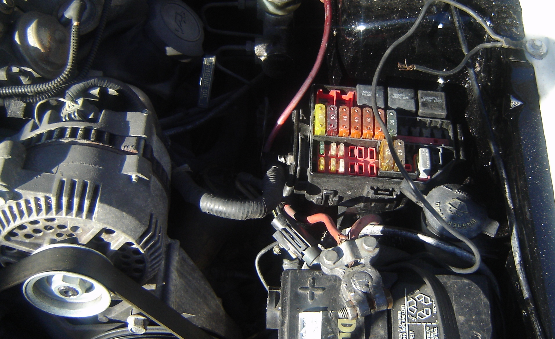 94 Mustang 3 8 Fuse Box - Wiring Diagram Networks
