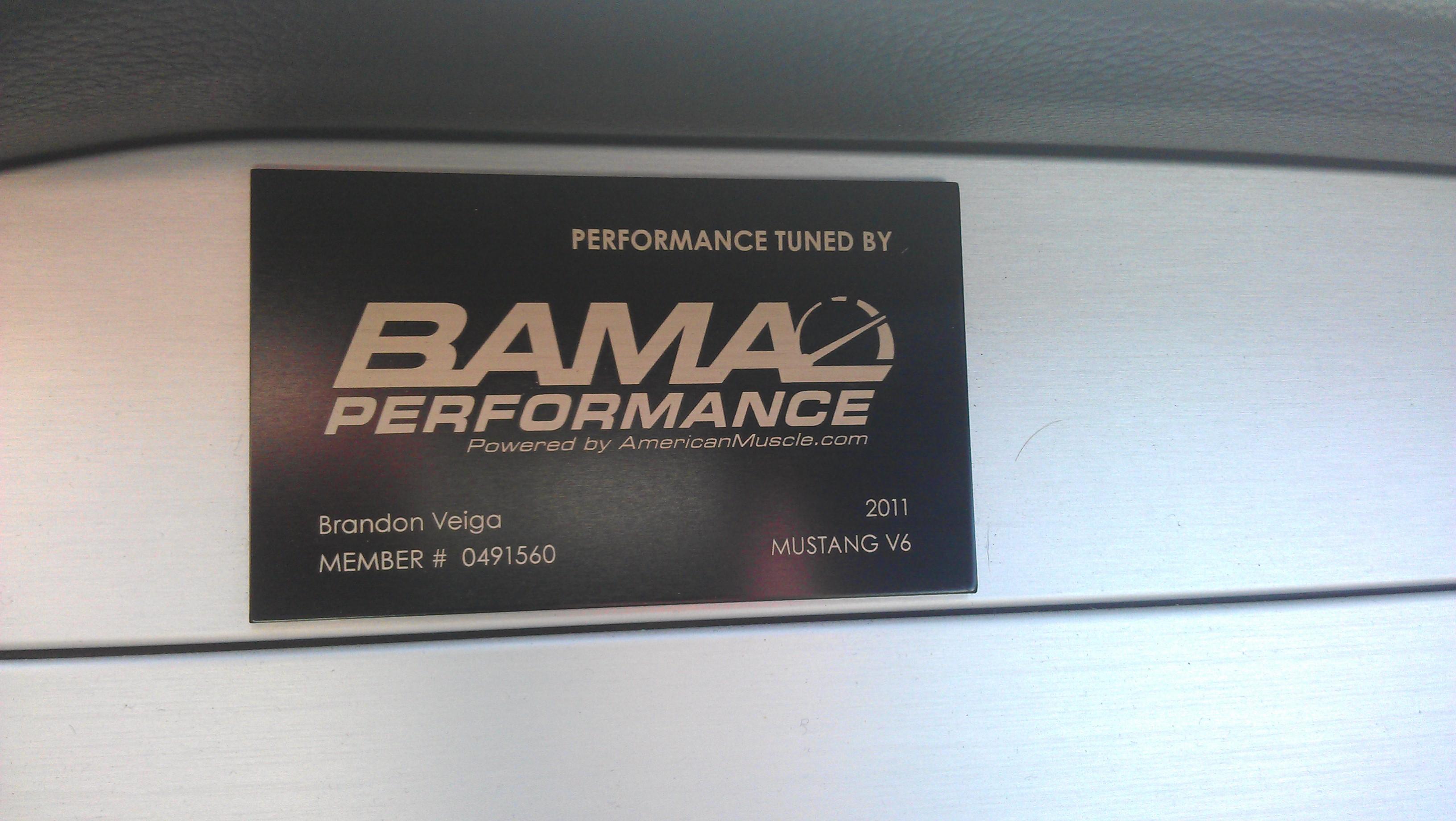 Sct Bama Badge Location Mustang Evolution