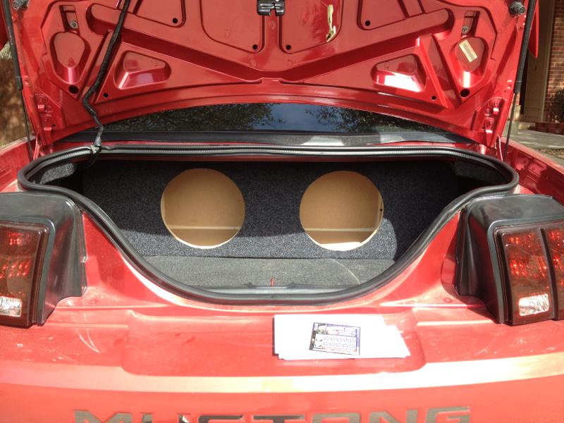 Zenclosure box for 2002 mustang HELP!!!!! - Mustang Evolution