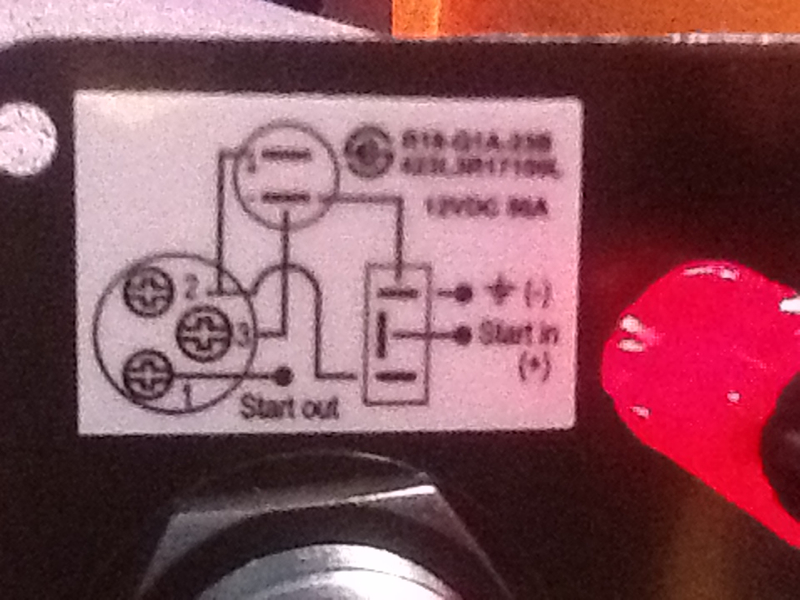 How Do I Wire A Toggle Switch And Push Button The The Ignition