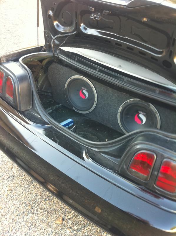 Subwoofer Box For Mustang Mustang Evolution