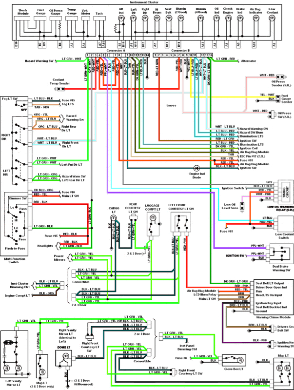 57395d1341286203 image 2206064715 headlight wiring color codes mustang evolution 2015 mustang speaker wiring diagram at reclaimingppi.co