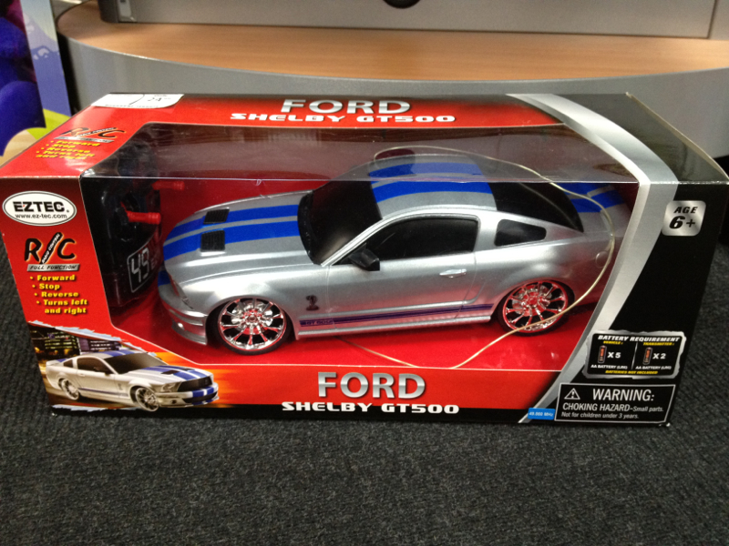 Shelby Rc Car Mustang Evolution