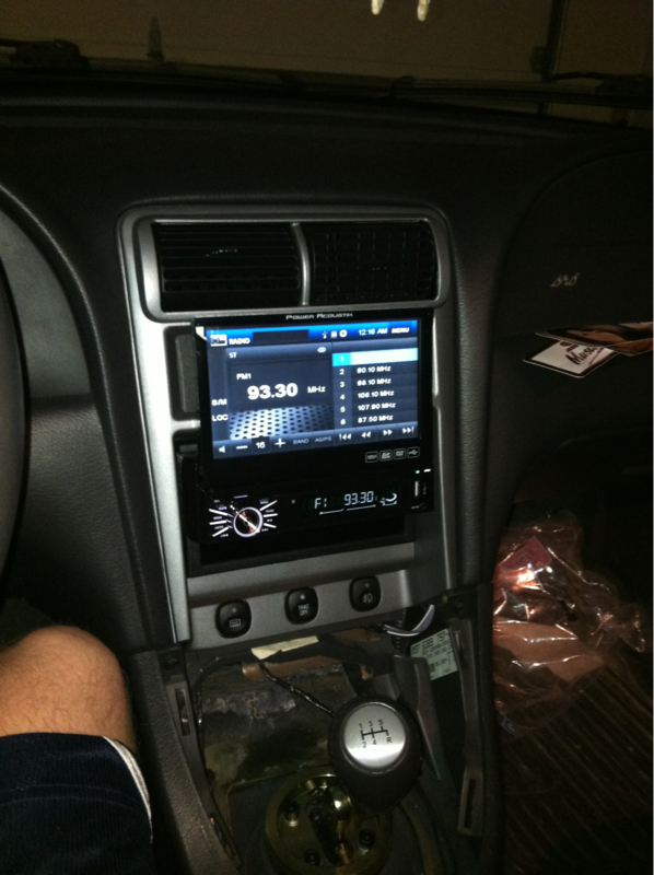 99 04 Head Unit Replace Pics Mustang Evolution