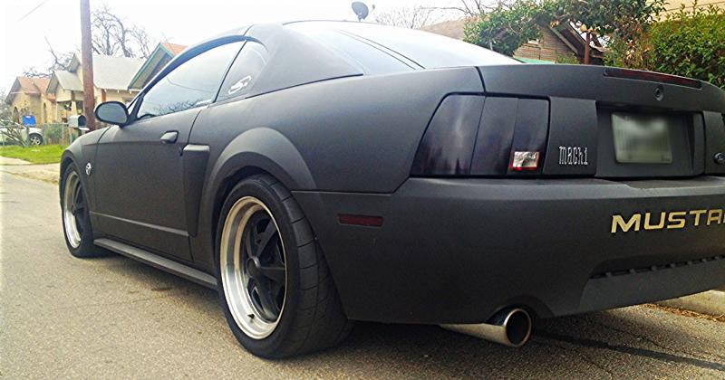 Plasti Dip Mustang Evolution