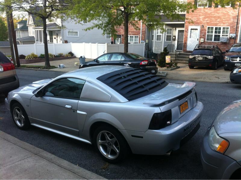 Rear Window Louver Advice Mustang Evolution