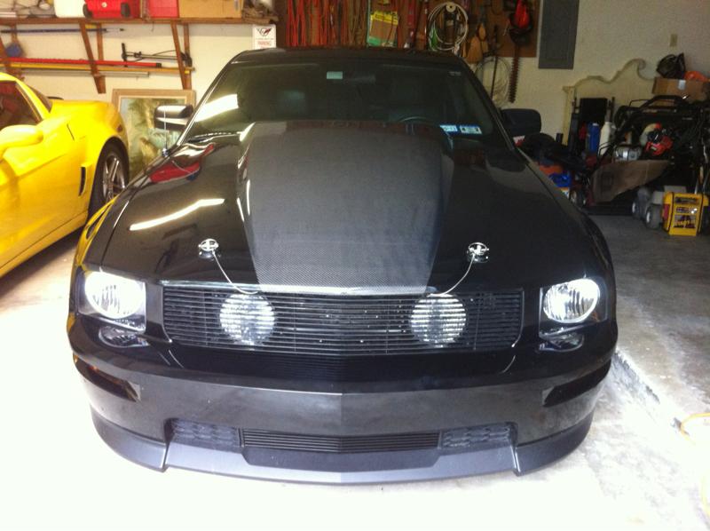 Hidden Fog Lights Behind Grille Mustang Evolution