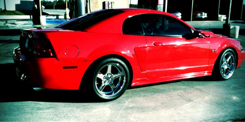 Dsg Mustang >> Deep dish 03 cobra wheels - Mustang Evolution