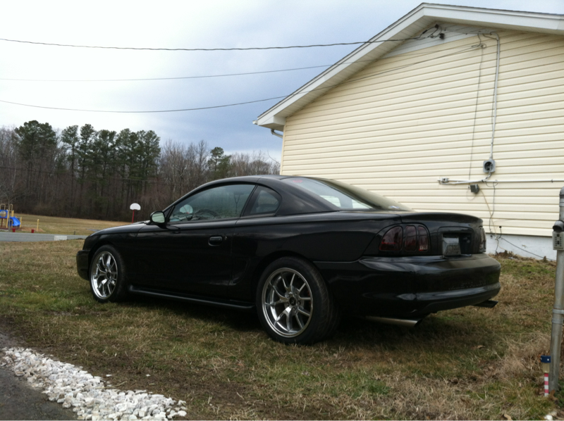 Forum Rims And Mustang Tires Evolution