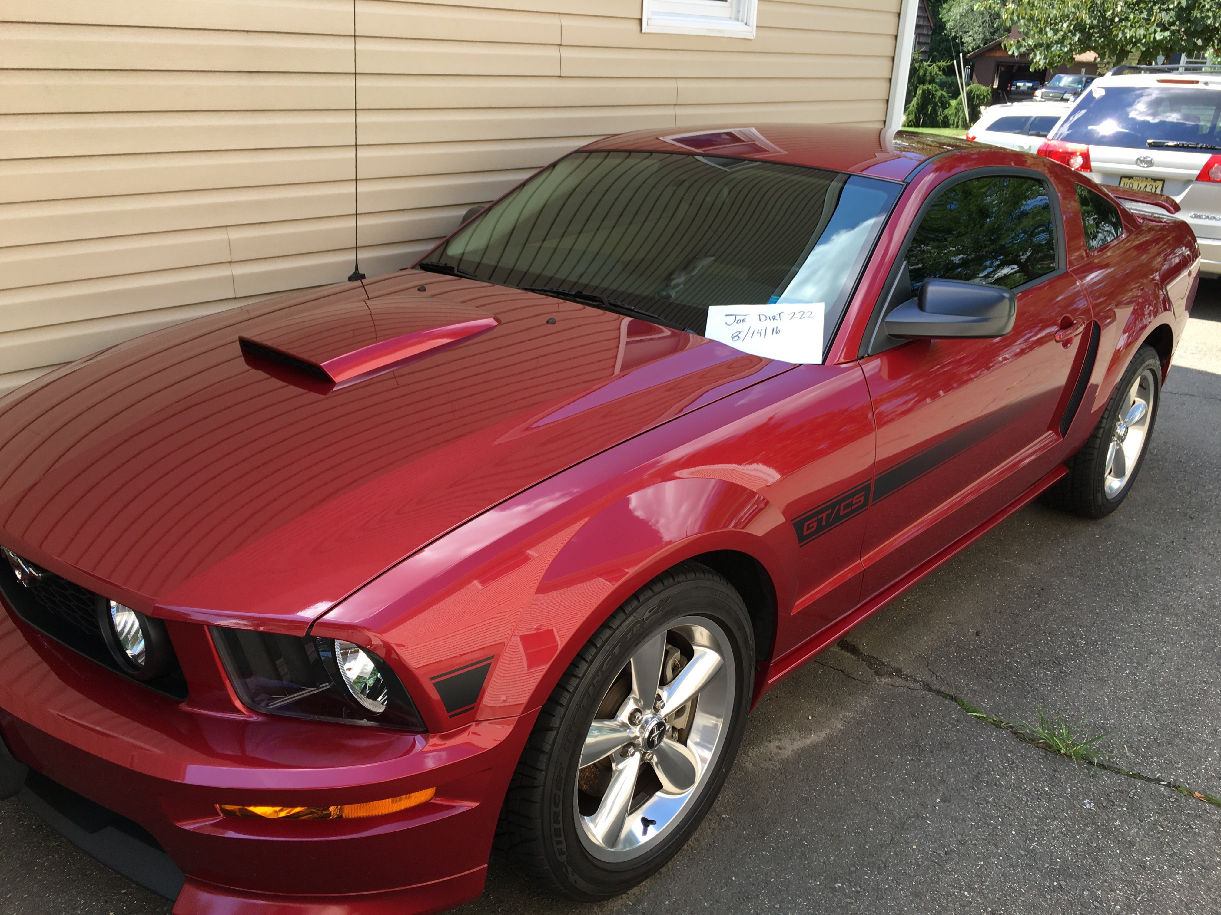 For Sale 2007 Gt California Special Premium Mustang Evolution Ford Click Image Larger Version Name Views 209 Size 161