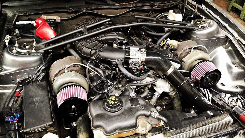 Lpf turbo kit for 3 7 - Mustang Evolution