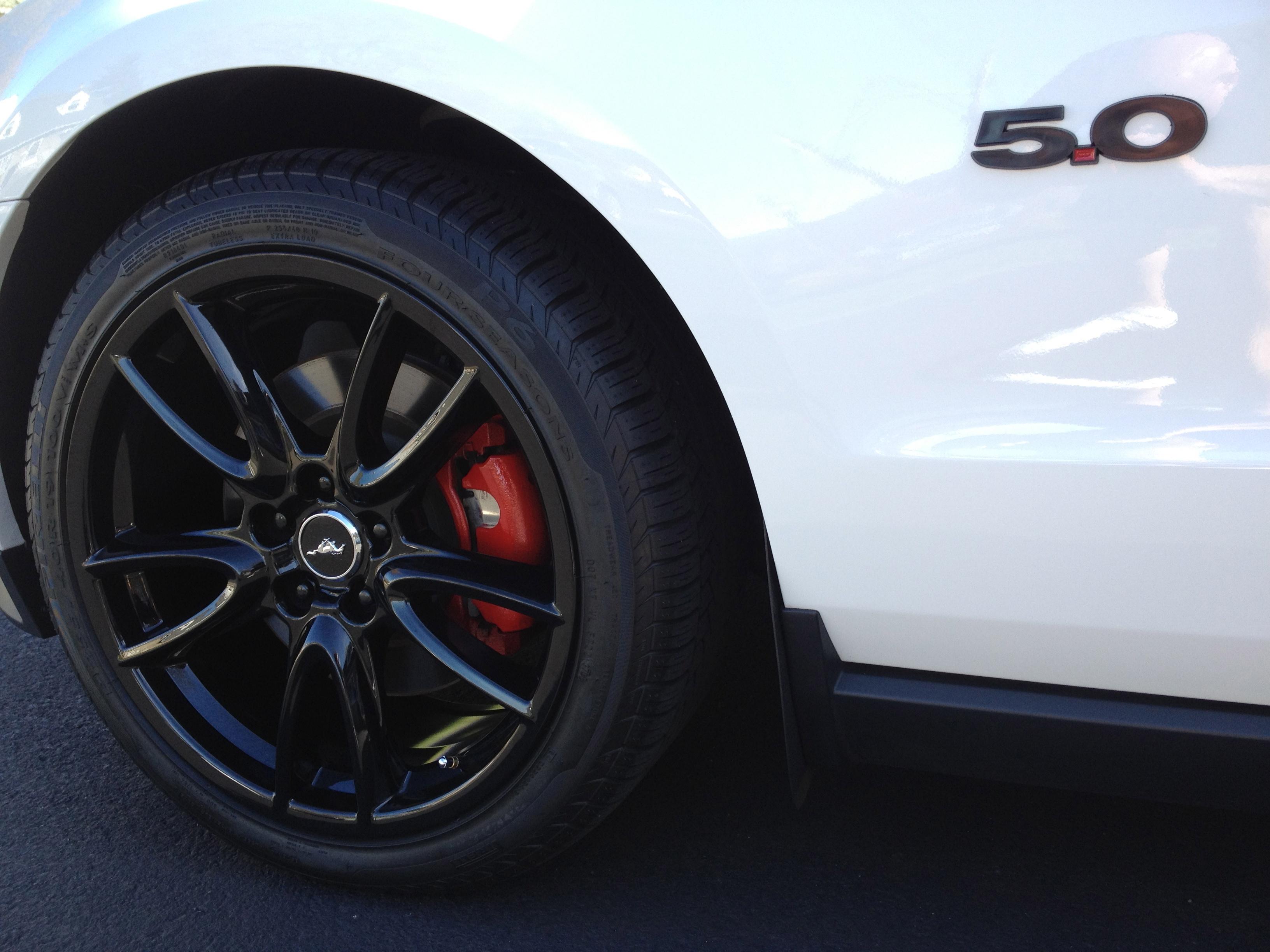Black Track Pack Package Mustang Evolution