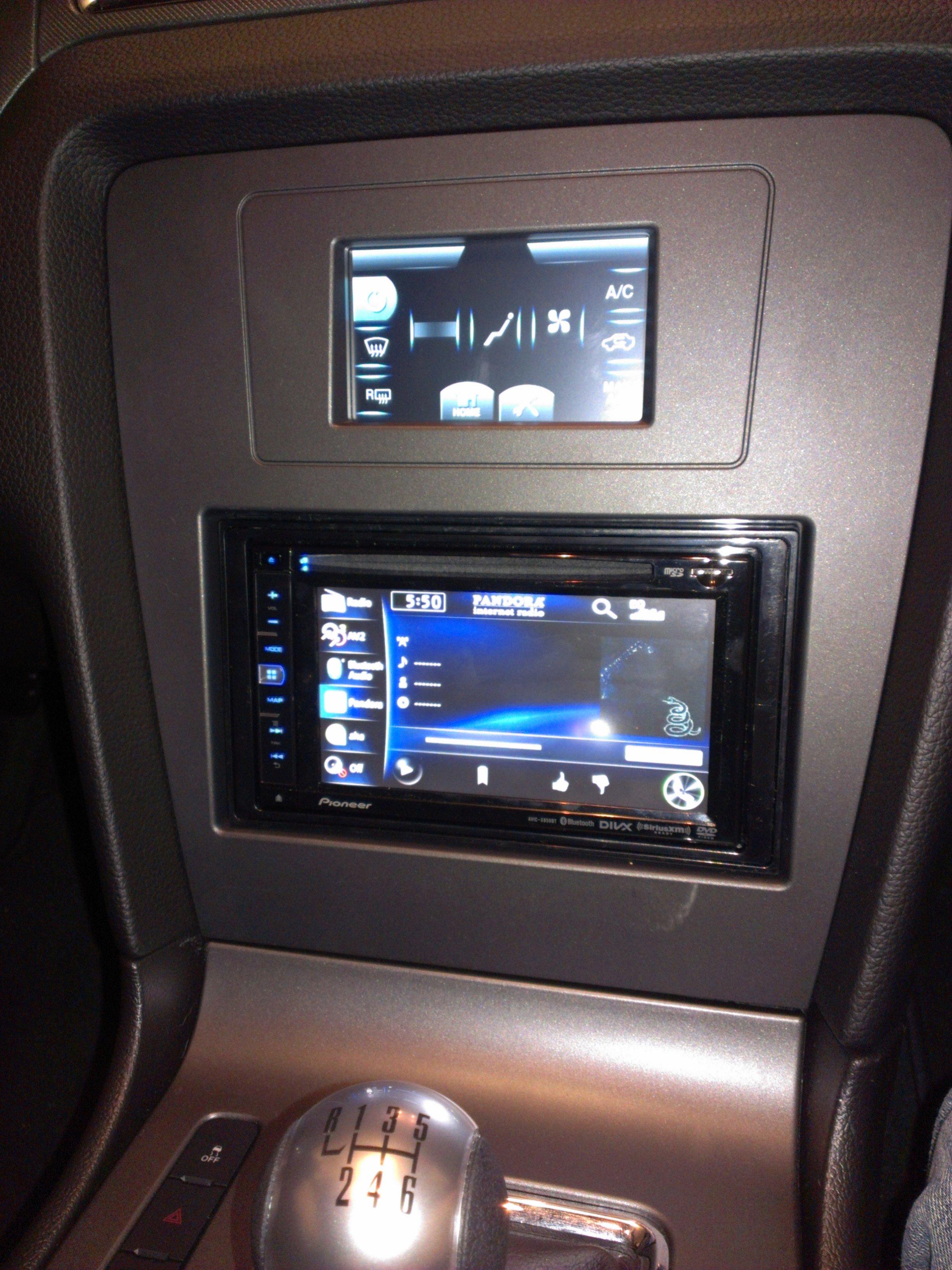 Pioneer Car Speakers >> base model stereo upgrade - Mustang Evolution