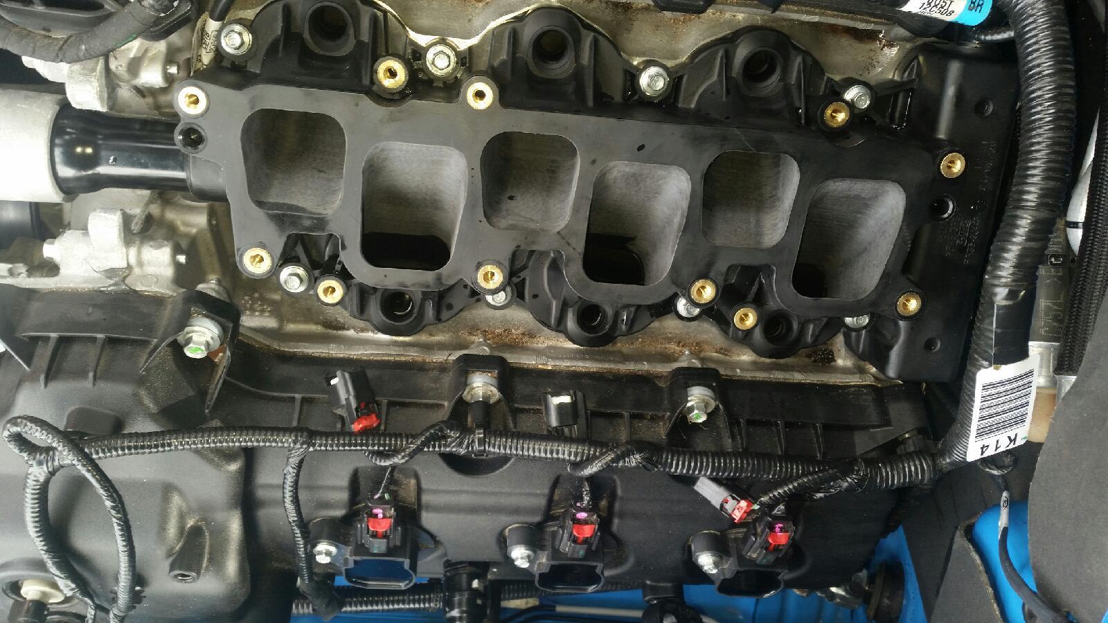 Ported intake manifolds - Mustang Evolution
