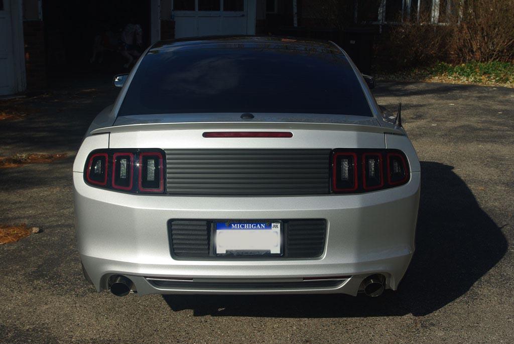 Rtr Rear Decklid Mustang Evolution