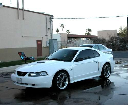 1998 Headlights Mustang Evolution