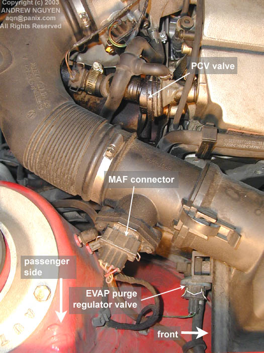 Ford mustang pcv valve diagram complete wiring diagrams emission question mustang evolution rh mustangevolution com ford pcv valve replacement ford taurus pcv valve freerunsca Gallery