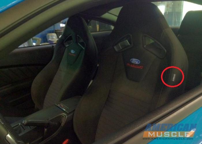recaro seats mustang evolution
