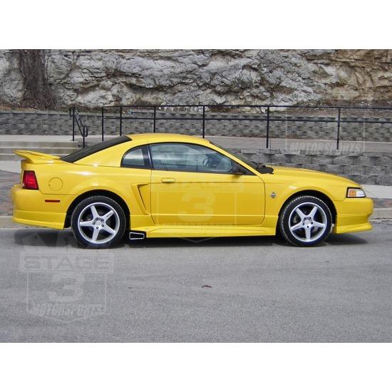 Roush Side Exhaust setup - Mustang Evolution