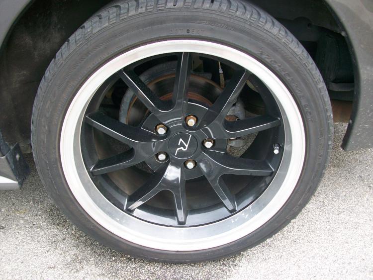 18x9 front 18x10.5 rear rims