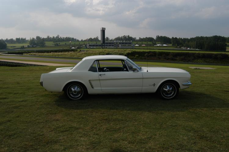 1965 Wimbledon White Coupe