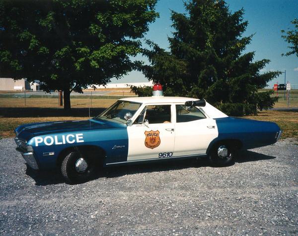 1968 Chevrolet restored Police car....