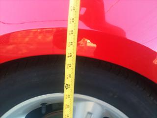 2 inch drop, rear