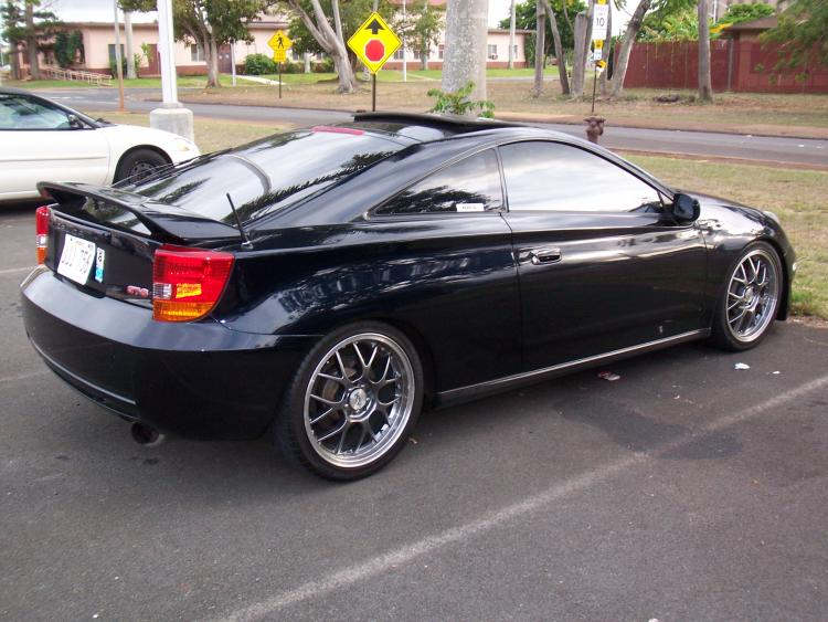 2000 Toyota Celica GTS Rear Side Right
