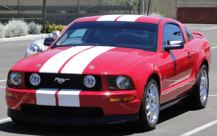 "2007 Mustang GT ""Rose"""