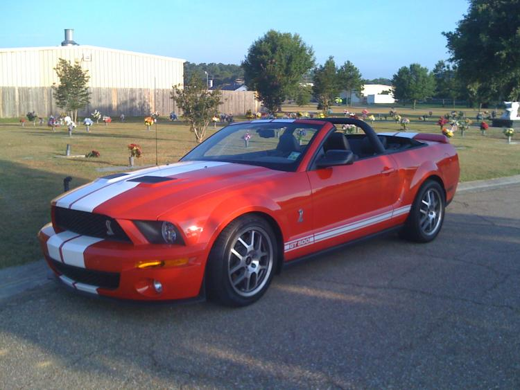 2008 Shelby GT500 Convertible.
