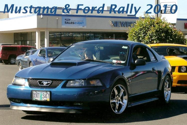 2010 Mustang and Ford Rally