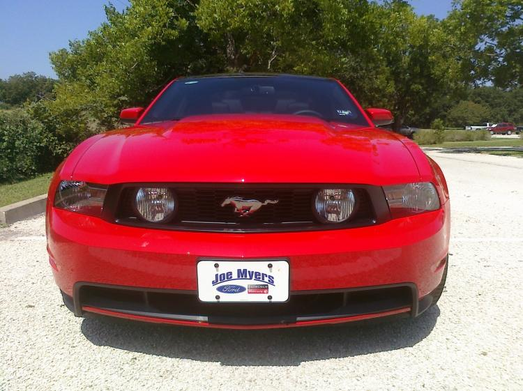 2011 mustang front