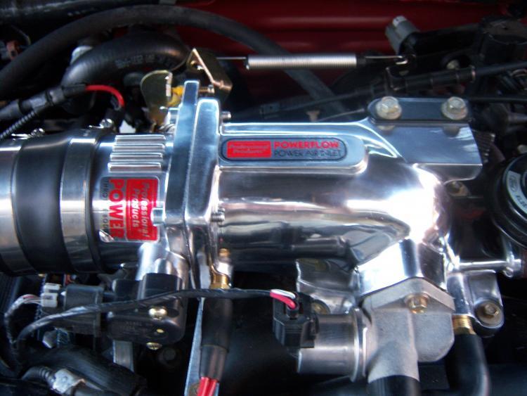 75mm throttle body and plenum
