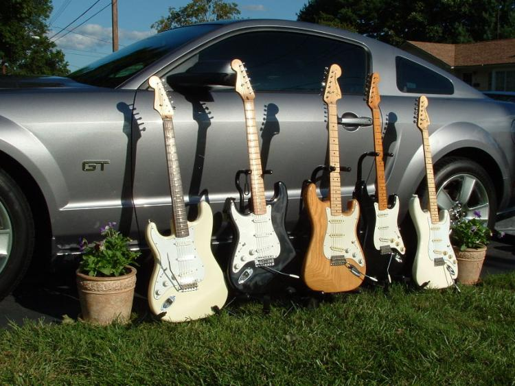 A few of my Fenders