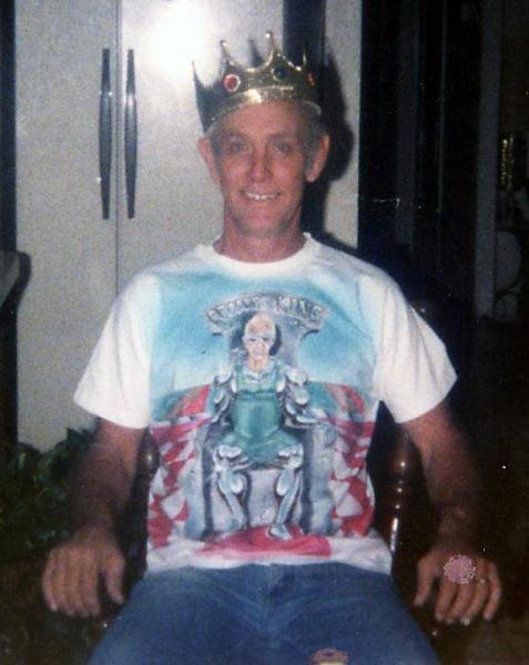 Airbrush T shirt Portrait Uncle Mike Front Mike - The King of Produce 1993