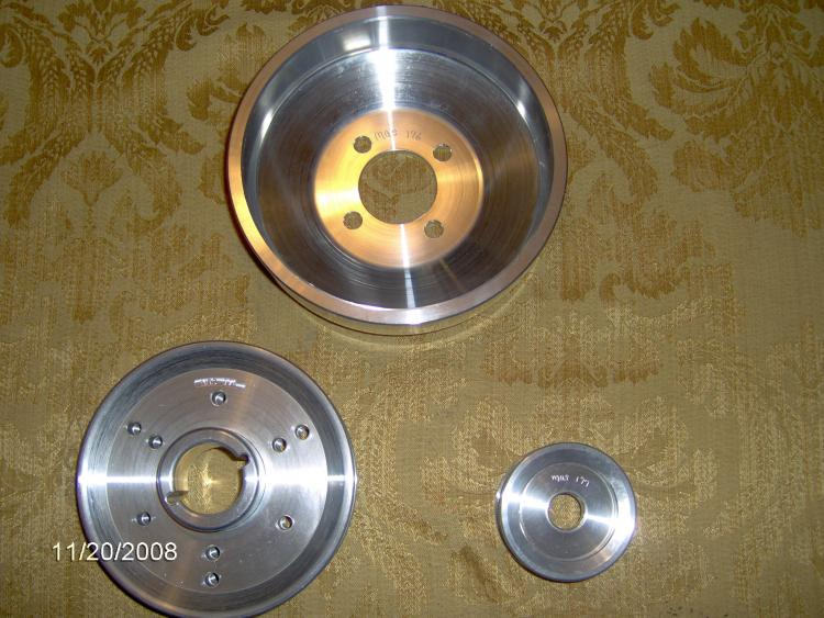 BBK - Underdrive Pulley Kit