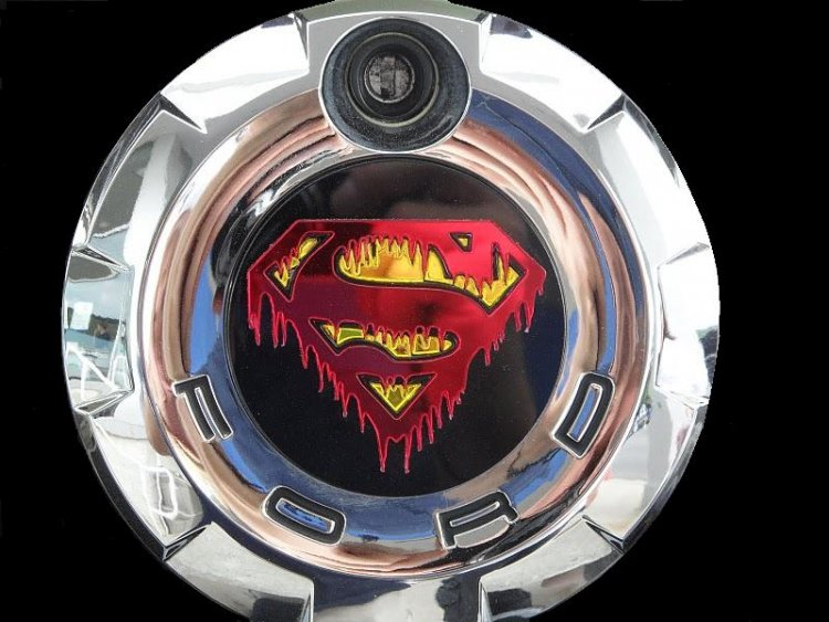 Bloody Superman cap