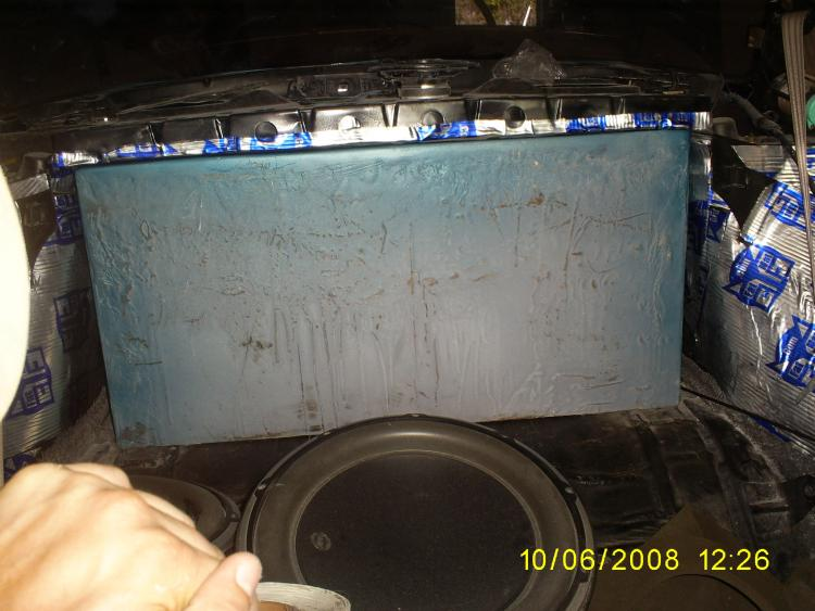box in the trunk costom fix for a saturn