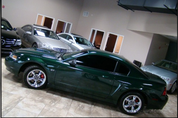 Bullitt in Showroom in Chicago.