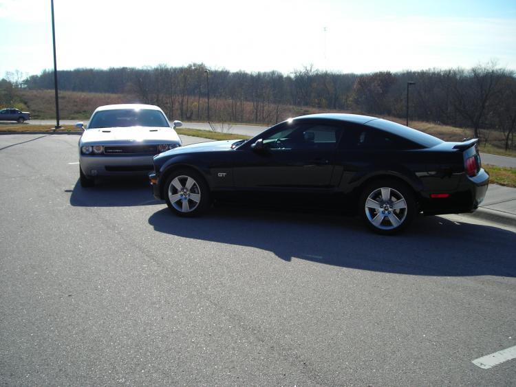Challenger Mustang GT 003