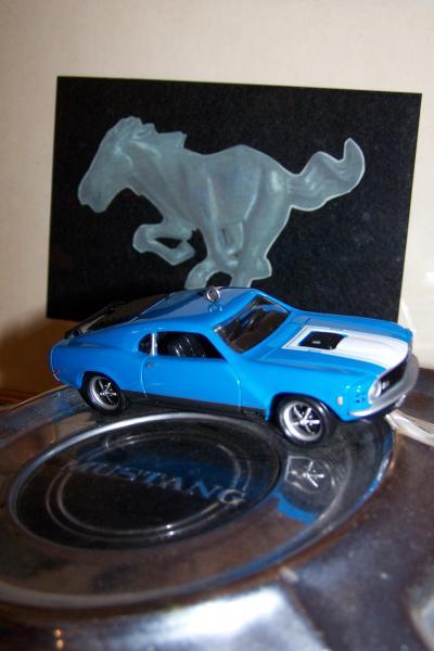 Clark's Emblem...Mustang