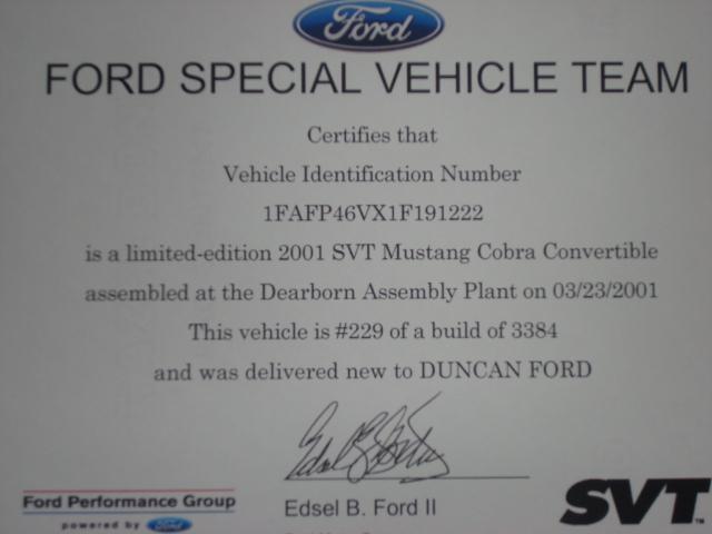Cobra Certification